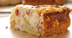 Savoury Philly and Chicken Cheesecake Kraft Recipes, Cookbook Recipes, Philadelphia Recipes, Cooking Cake, Cake Bars, Bread And Pastries, Brownie Cake, Savoury Cake, Sweet And Salty
