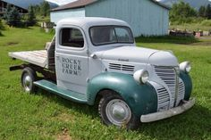 1941 Plymouth PT125 1941 Plymouth PT125 Truck Flatbed Very Original Rust Free with Ford Flatbed