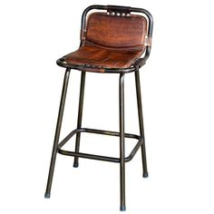 Factory bar stool from Andy Thornton | Bar stools | housetohome.co.uk