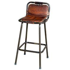 Factory bar stool from Andy Thornton | Bar stools | housetohome.co.uk