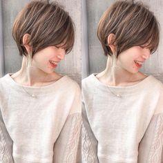 Pin on ヘアスタイル Cute Hairstyles For Short Hair, Girl Short Hair, Latest Hairstyles, Hairstyles Haircuts, Short Hair Cuts, Short Hair Styles, Hair Reference, Rainbow Hair, Great Hair