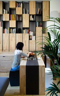 Appartement M by L'atelier miel Architects ~ Miso Design