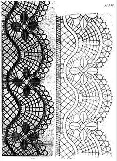 Plus de 1000 idées à propos de Bobbin Lace Patterns, Crochet Patterns, Bobbin Lacemaking, Lace Heart, Lace Jewelry, Needle Lace, Lace Making, Simple Art, Hobbies And Crafts