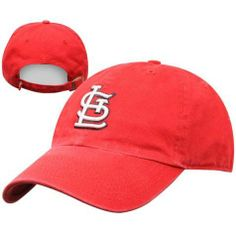 31ab99cbc06 Men s St. Louis Cardinals Red Clean-Up Cap - ONE SIZE by Twin Enterprise.   22.95. This cap is a relaxed