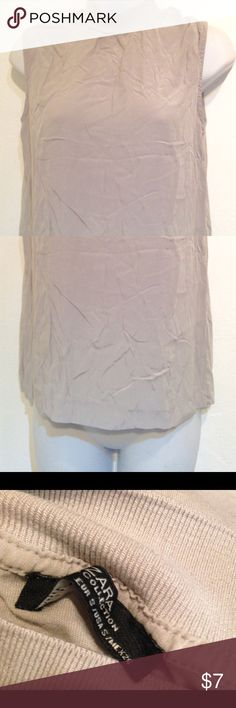 Zara Collection Grey Turtleneck Tank Size S Zara Collection Grey Turtleneck Tank Size S measures 13 inches underarm to bottom hem and nape is 23 inches No holes or stains Zara Tops Tank Tops