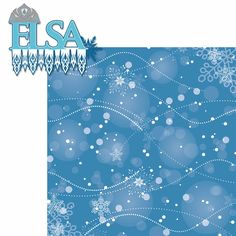 Frozen: Elsa 2 Piece Laser Die Cut Kit