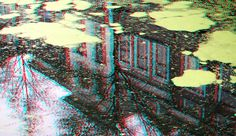 https://flic.kr/p/P7NGCq | Canal Hippolytusbuurt Delft 3D | anaglyph stereo red/cyan
