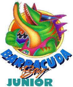 Barracuda Bay was section of Darien Lake theme park with four water slides called 'Cuda Falls. Roller Coaster Tycoon, Darien Lake, Logo Sign, Retro Pop, Going Out Of Business, Swim Team, Water Slides, Logo Nasa, Print Pictures