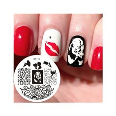 Born Pretty Nail Art Stamping Template Image Plate Marilyn Monroe Pattern BP15 -- Click image to review more details.