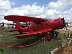 Beechcraft Model 17 Staggerwing at Sun 'N Fun 2013