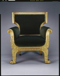 Bergère.  Morel & Seddon (cabinet maker)  1828
