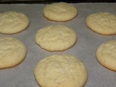 Drop Sugar Cookies
