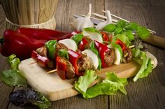 Haitian Voodoo Kebabs are a delicious spicy well seasoned beef kebab seared on the grill to lock in the juice and enhanced with red and green bell peppers.