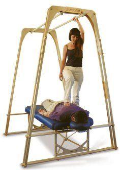 Ashiatsu Oriental Bar Therapy barefoot massage products: the Hardee-Ashiatsu Portable Bar System $999