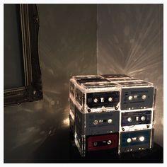 Cassette lamp I made