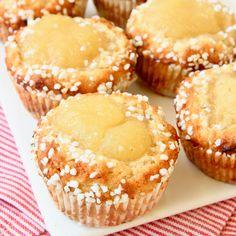 Hastbullar med äppelmos – Lindas Bakskola