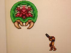 Perler Beads Super Metroid and Yoshi's Island