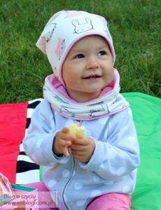 Opis jak uszyć czake i komin dla dziecka - eti blog o szyciu