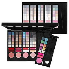 Sephora Collection Color Play - 5 in 1 II - Fashion Edition ($150 Value) (Original Price $30) Now $20  A versatile eye, lip, and cheek set with five interchangeable color stories. Each of the five sub-palettes includes:  - 10 eye-shadows  - 2 lip colors - 1 blush