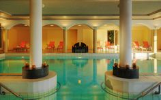 The Wellness Oasis on Lake Lugano Lugano, Spa, Oasis, Villa, Hotel, Table Decorations, Mansions, House Styles, Switzerland