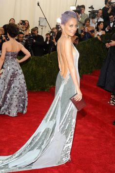 Having a Ball - Nicole Richie - in Donna Karan, beautiful dress
