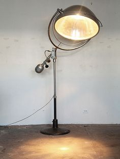 mid-century medical lamp