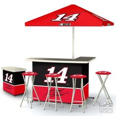 Deluxe Nascar Bar - Tony Stewart - Best Of Times Llc DLX W1402 - NASCAR Products - Camping World