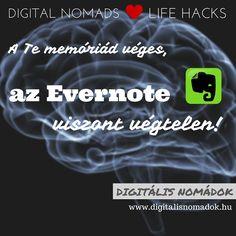 Ments ötletet, szöveget, hangot, weboldalt, pdf-et, képet, bármit Evernote-ba. Rendszerezd, ahogy szeretnéd, adj hozzá taget, használd a keresőt, ha nem találsz valamit. Szuper hasznos akár a mobil alkalmazással, akár a böngésző pluginnel használva is!