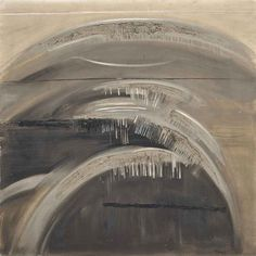 Jack Smith (British, 1928-2011), Sea Rise and Fall I, 1959. Oil on canvas, 36 x 36 in.