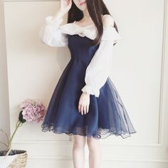 www.sanrense.com - Sweet bowknot dress SE8728