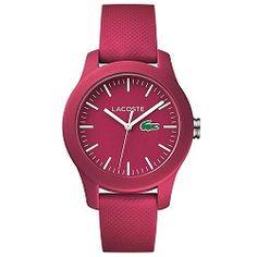 Relógio Lacoste Feminino Borracha Rosa - 2000957