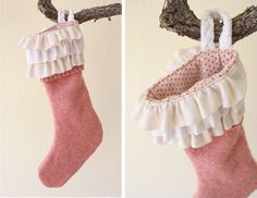 I've been wanting to make Christmas Stockings for the last 3 years. I'm not sure why it took me so long, especially since once I sat down to do it they were fairly easy to make! Without further ado, here are our new stockings: Aren't they pretty? When my husband and I were first married...Read More »