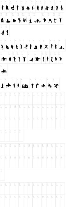 Human Silhouettes Two
