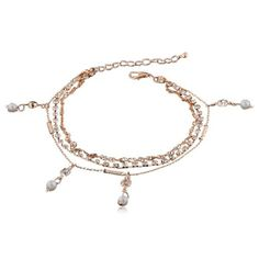 Ankles are beautiful. La Mia Cara Jewelry - Unique and Assertive This anklet has been crafted with deep passion and beauty. You can feel the great inspiration behind it, and those the name Aphrodite.