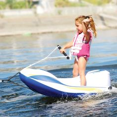 Great idea. The Childrens Water Ski Trainer - Hammacher Schlemmer
