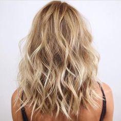47 hot long bob haircuts and hair color ideas hair color balayage, blonde balayage, Long Bob Haircuts, Modern Haircuts, Straight Haircuts, Cute Haircuts, Strong Hair, Great Hair, Hair Looks, Hair Lengths, New Hair