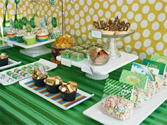 The perfect #dessert #bar for St Patty's Day!
