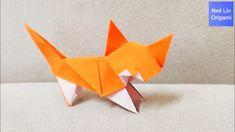 How to make a Cute Cat - Origami Cat Tutorial