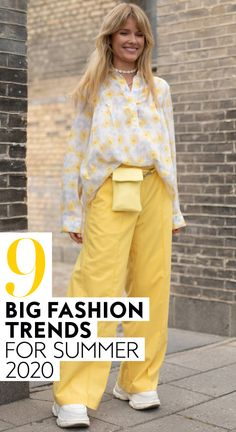 Ahead, I've rounded up nine vintage-meets-current fashion trends that you might want to check out, too.  Everything from playful prints, to mom shorts, to voluminous details is making a comeback this Summer.  #style #ootd #fashion #summer2020trends #fashiontrends Fashion Tips For Girls, Fashion Couple, Black Girl Fashion, 70s Fashion, Ootd Fashion, Vintage Fashion, Grunge Fashion, Streetwear Fashion, Modest Fashion