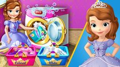 SOFIA the First - Laundry Day | Disney Princess