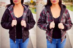 GROOPDEALZ: **Love It!!**  Was $60, NOW $13.99! Ships for $5  Custom Design Threads Cozy Reversible Plaid Jacket; S-XL  SAVE 77% : https://rvst.shop/2mdQZ7z  #ad