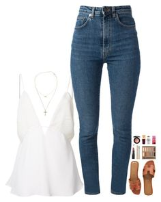 """there's no time to sleep living in a dream"" by kthayer01 ❤ liked on Polyvore featuring Christopher Esber, Yves Saint Laurent, Hermès, NARS Cosmetics, MILK MAKEUP, Urban Decay, Tiffany & Co., By Boe, Dolce&Gabbana and MAC Cosmetics"