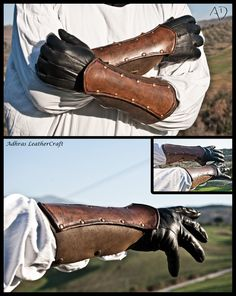 Simple Composed Bracers by Adhras.deviantart.com on @deviantART