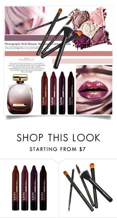 """""""Untitled #3003"""" by kristina-biskup ❤ liked on Polyvore featuring beauty, Möve, Nina Ricci, Hedi Slimane and Chloé"""