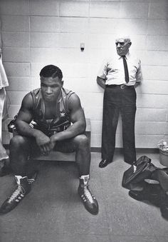 "Tyson's first fight with ""Cus"" D' Amato"