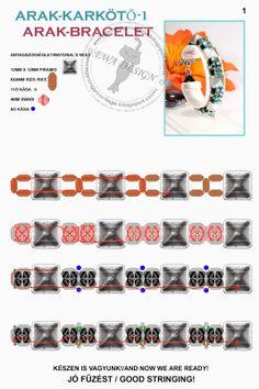 Ewa beaded World: Prices pattern bracelet / bracelet pattern Arak