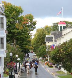 First day of Fall, Mackinac Island, Michigan