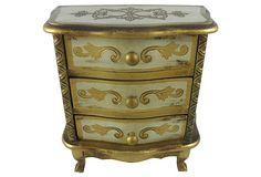 Florentine-Style Jewelry Box on OneKingsLane.com