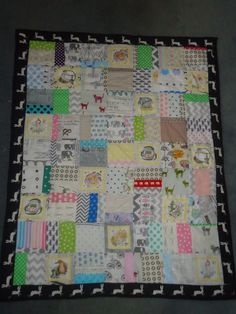 Gumnut baby quilt made by lindalovesfabrics - find me on ebay