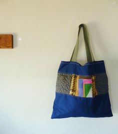 SALE  the slice of patchwork tote by sweetanddirtys on Etsy, $25.00